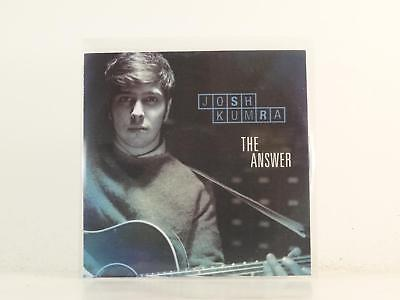 JOSH KUMRA,THE ANSWER,EX/EX,2 Track, Promotional CD Single, Picture Sleeve,SONY