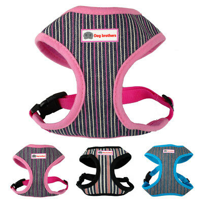 Nylon Mesh Small Dog Harness Puppy Pet Vest with Leash Set for Small Medium Dogs