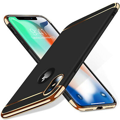 Luxury Matte Case Tempered Glass Cover For Apple iPhone X XS XR Max 10 8 7 6s 6