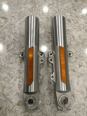 Oem Harley Davidson Front Fork Sliders Touring 2014-Up Free Shipping Look!