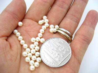 200pc white closed beads 4mm round Faux Imitation Pearl Beads with no opening