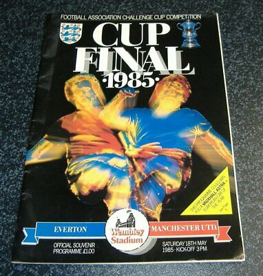 Everton v Manchester Utd - FA Cup Final 1985