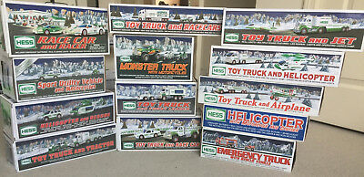 Lot of 13 Hess Toy Trucks - Collectibles