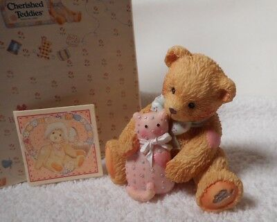 """1992  Cherished Teddies - """"Timothy - A Friend Is Forever""""   910740  Retired"""