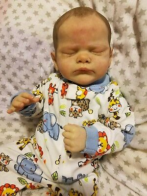 Reborn Baby Girl Genevieve Sculpted by Cassie Brace💗Limited baby