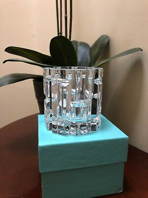 Tifany & Co Crystal Candle Holder