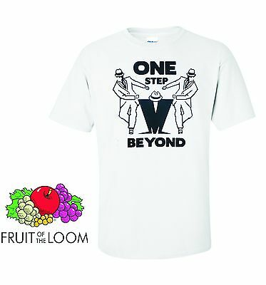 MADNESS-ONE STEP BEYOND T-SHIRT (SKA)  small to xxxl sizes