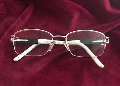 "fac92a57057 Ladies Boots ""Beth"" Prescription Glasses Gold Rimmed Frames - Pearl   Black"