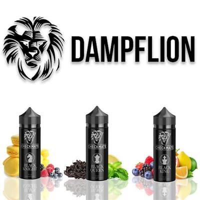 Dampflion Checkmate Black Edition King Queen Knight Aroma 10ml Spar Set Liquid