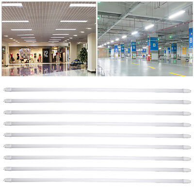 12pcs T8 LED Tube Light 4FT 24W Replacement Fluorescent Day White Energy Saving