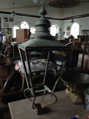 Architectural Salvage antique Light Top  For Lamp Post