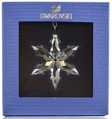 SWAROVSKI clear 2015 LITTLE star ornament brand new in box!