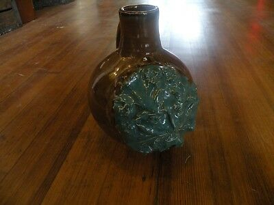 Vintage Old Pottery Man Face Jug