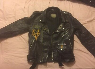Aukland Punk Leather Jacket