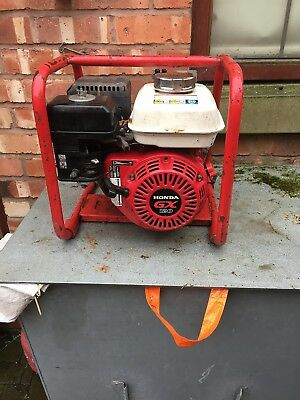 "Clarke Chs2E 2""  Honda Petrol Powered Semi-Trash Water Pump Honda Gx120"