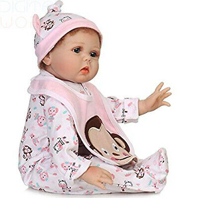 ZIYIUI 55cm Real Looking Baby Dolls Reborn Look Soft Silicone...