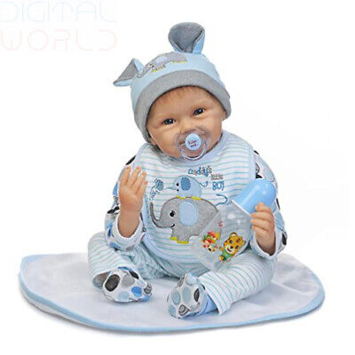 ZIYIUI Realistic Reborn Baby dolls 22 inch 55cm Real Looking Alive Soft...