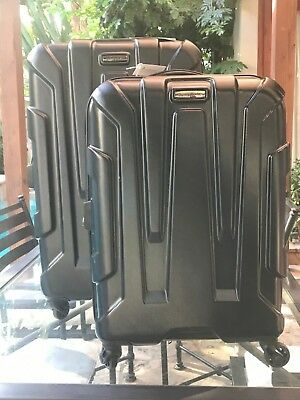 "Samsonite Centric Expandable Hardside 2 piece luggage (24"" +20"") BLACK"