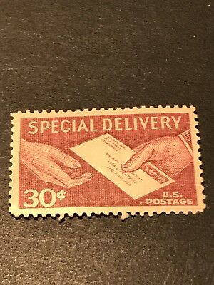 US Scott #E21, 30c Special Delivery Letter in Hand Stamp, MNH