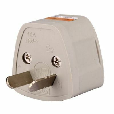 US EU UK Universal to AU (Type I) Australia AC Power Plug Adapter Converter MT
