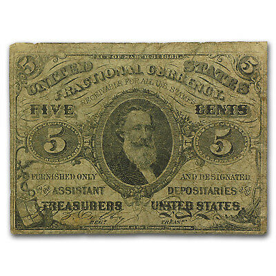 3rd Issue Fractional Currency 5 Cents VG (FR#1238) - SKU#43927