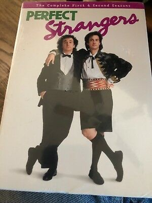 Perfect Strangers: The Complete First  Second Seasons 1 & 2 (DVD 4-Disc Set NEW
