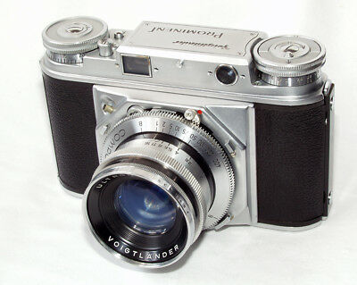 Voigtländer Prominent with Ultron 50mm/2 - rare first version