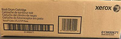 Xerox Black Drum Cartridge For Color Press J75 C75 013R00671 Sealed box