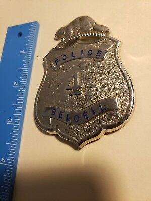 Beloeil Canada Police badge