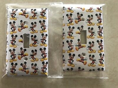 Mickey Mouse Switch Plates Nursery Decor