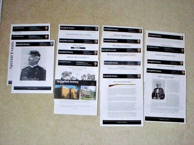 SPRINGFIELD ARMORY NATIONAL HISTORIC SITE - 17 Brochures - NPS - New Condition