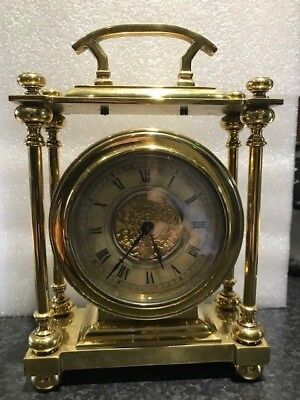 Antique Brass Carriage/Bracket Clock