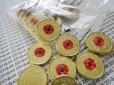 Australia 2018 $2 Dollar REMEMBRANCE DAY ARMISTICE RED POPPY RAM Bag-1x ONE COIN