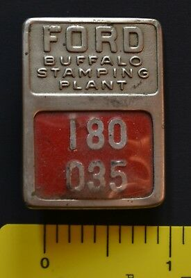 Ford Buffalo Stamping Plant Badge 180035