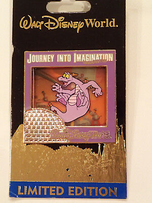 Pin 84815 WDW Figment Journey Into Imagination Attraction Slider LE1000