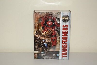 Transformers The Last Knight Premier Edition Voyager Scorn Hasbro - Brand New