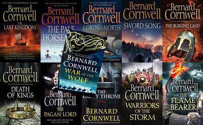 The LAST KINGDOM Series By Bernard Cornwell (11 MP3 Audiobook Collection)