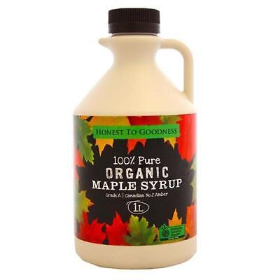 Organic Maple Syrup (Grade A) 1L - FREE POSTAGE
