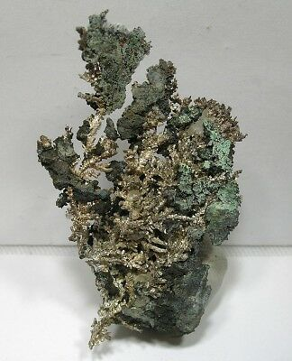 Aesthetic Crystal Silver Beauty: White Pine Mine, Ontonagon County, Michigan Nr!