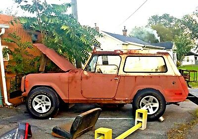 1973 Jeep Commando removable hardtop Trending Now 304 v-8 Holley 4v auto,4wd,removable hardtop,project great body