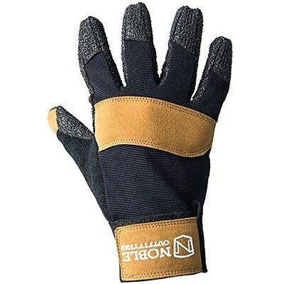 (Large, BLACK & TOBACCO) - Hay Bucker Pro Glove. Noble Outfitters. Free Delivery
