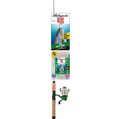 (Trout) - Shakespeare Catch More Fish Spinning fishing Reel Rod