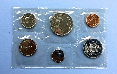 1986 Canada Proof-Like 6-Coin Set (4050)