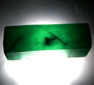 Magnificent Looking 410 Ct Natural Green Colombia Emerald Rough Gemstone