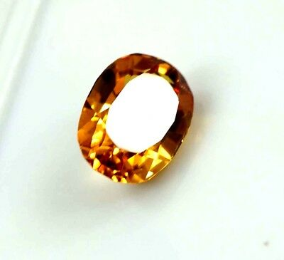 GGL Certified 6.60 Ct Natural Oval Shape Yellow Sapphire Gemstone XMas Offer
