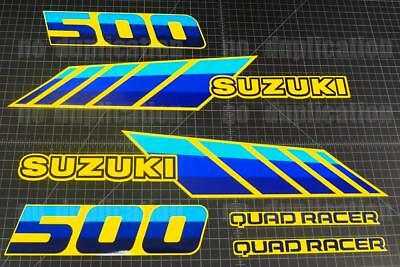 87' - 90' Quadracer Suzuki 6pc LT500R, LT500 500 QUADZILLA Decal sticker graphic