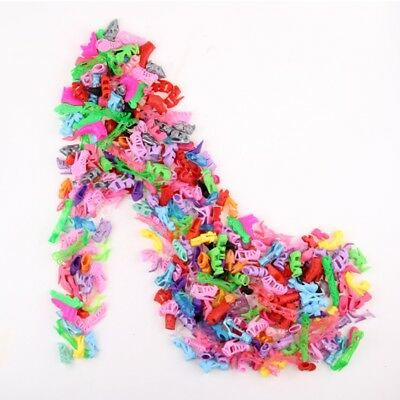 Fashion Party Daily Wear Dress Outfits Clothes Shoes For Doll 10 Items