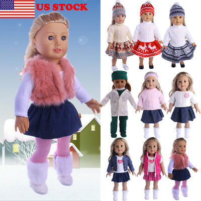Doll Clothes Pajames for 18inch American Girl Our Generation My Life Dolls