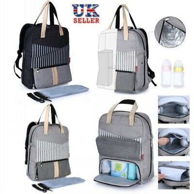 Mummy Backpack Baby Diaper Nappy Multifunctional Travel Mom Changing Nursing Bag