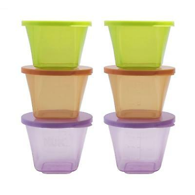 Annabel Karmel By NUK Stackable Storage Containers , Microwave & Freezer Safe,